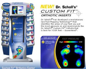 Dr Scholl's Custom Fit System
