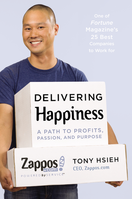 Image result for delivering happiness book cover