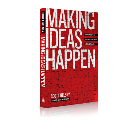 making ideas happen, by scott belsky