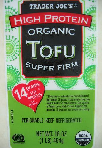 Trader Joe's High Protein Organic Tofu