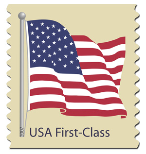 us flag stamp