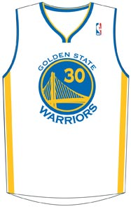 Golden State Warriors' Jersey