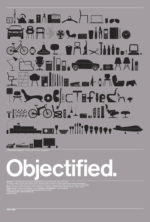 Objectified Movie Poster