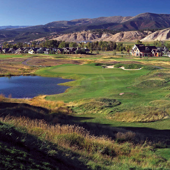photo of eagle ranch and golf course