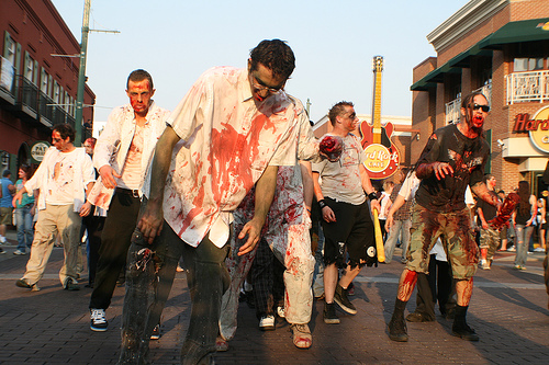 zombies take to the streets